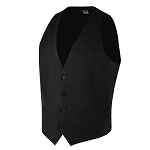 "CAREER ""ESSENTIALS"" MEN'S BLACK SUIT VEST"