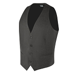 "CAREER ""ESSENTIALS"" MEN'S CHARCOAL GREY SUIT VEST"
