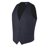 "CAREER ""ESSENTIALS"" MEN'S NAVY BLUE SUIT VEST"