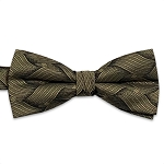 Gold Wave Bow Tie #BT132T-14