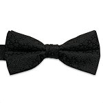 Black Sierra Bow Tie #BT146T-01