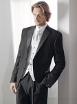 """RADNOR"" NOTCH MEN'S BLACK TUXEDO JACKET"
