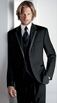 """ROME"" NOTCH MEN'S BLACK TUXEDO JACKET"