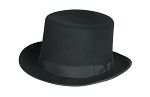 CLASSIC TOP HAT IN BLACK