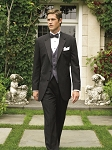 """WHITNEY"" NOTCH MEN'S BLACK TUXEDO JACKET"