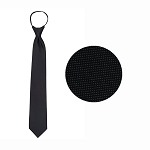 """CARLYLE"" BLACK WINDSOR TIE"