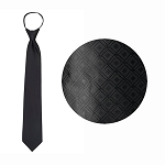 BLACK MARQUIS WINDSOR TIE