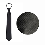 """SIERRA"" BLACK WINDSOR TIE"