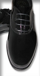GATEWAY BLACK JAZZ OXFORD FORMAL SHOES - CLOSEOUT