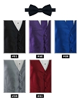 EXPRESSIONS PRE-TIED BOW TIE - ASSORTED COLORS