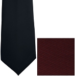 BURGUNDY CARLYLE 4-IN-HAND LONG TIE