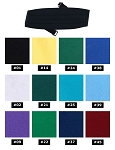 NEIL ALLYN FORMAL SATIN COLOURS CUMMERBUND - ASSORTED COLORS