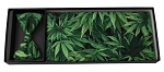 CANNABIS BLISS CUMMERBUND AND BOW TIE SET - COTTON
