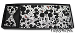 MICKEY MOUSE FACES CUMMERBUND AND BOW TIE SET