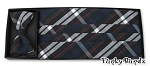 REGENT PLAID CUMMERBUND & BOW TIE SET