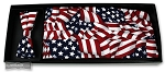 USA AMERICAN FLAG CUMMERBUND & BOW TIE SET