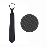 """CARLYLE"" CHARCOAL GREY WINDSOR TIE"