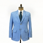 EXECUTIVE APPAREL CAROLINA  BLUE CLUB COLLECTION BLAZER JACKET