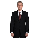 EXECUTIVE APPAREL BLACK EASYWEAR BLEND BLAZER JACKET