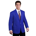 EXECUTIVE APPAREL ROYAL BLUE EASYWEAR BLEND BLAZER JACKET