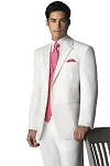 """DENVER"" NOTCH MEN'S WHITE TUXEDO JACKET"