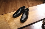 FABIAN COUTURE MONACO LACE UP FORMAL DRESS SHOES - BLACK