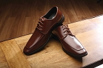 FABIAN COUTURE MONACO LACE UP DRESS SHOES - BROWN