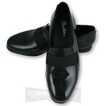 BRENTANO OPERA SLIP ON PUMP FORMAL SHOES - BLACK CLOSEOUT