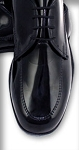 GATEWAY BLACK OVERLAY MOCH FORMAL SHOES - CLOSEOUT