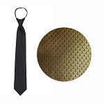 """SIERRA"" GOLD WINDSOR TIE"
