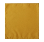 LUXURY SATIN POCKET SQUARE / HANKIE - GOLD