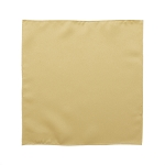 LUXURY SATIN POCKET SQUARE / HANKIE - ANTIQUE GOLD