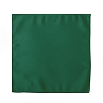 LUXURY SATIN POCKET SQUARE / HANKIE - EMERALD