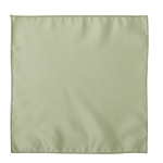 LUXURY SATIN POCKET SQUARE / HANKIE - SAGE