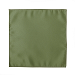 LUXURY SATIN POCKET SQUARE / HANKIE - CLOVER