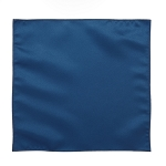 LUXURY SATIN POCKET SQUARE / HANKIE - ROYAL BLUE