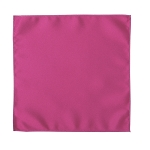 LUXURY SATIN POCKET SQUARE / HANKIE - HOT PINK
