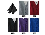 EXPRESSIONS POCKET SQUARE / HANKIE - ASSORTED COLORS