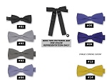 CLASSIC POLY SATIN KENTUCKY TIE - ASSORTED COLORS CLOSEOUT