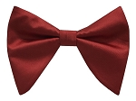 RED BUTTERFLY BOW TIE & HANKIE SET