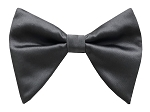 PEWTER BUTTERFLY BOW TIE & HANKIE SET