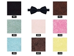 CHAPS MANOR PAISLEY BOW TIES - ASSORTED COLORS CLOSEOUT