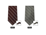 MULTI STRIPE 4-IN-HAND LONG TIE - ASSORTED COLORS