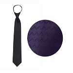 PURPLE WAVE WINDSOR TIE