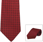 """FIESTA"" RED LONG TIE"