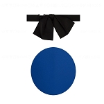 """PREMIER SATIN"" JUMBO ROYAL BLUE FLOPPY TIE"
