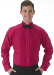 SEGAL FUCHSIA WINGTIP MEN'S TUXEDO SHIRT