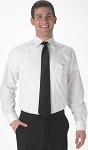 SEGAL WHITE LONG SLEEVE MEN'S DRESS SHIRT