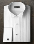 Men's 100% Cotton Tuxedo Shirts