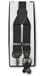 BLACK CONVERTIBLE END SUSPENDERS BY BRAND Q